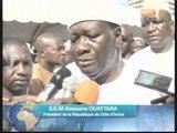 Le president Alassane Ouattara et les musulmans de Côte d'ivoire ont célébré l'Aid El Kebir