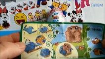 11 Minutes SURPRISE EGGS COMPILATION Opening 2016 Kinder Maxi Little Mole Cars Dinsey Pixar Planes
