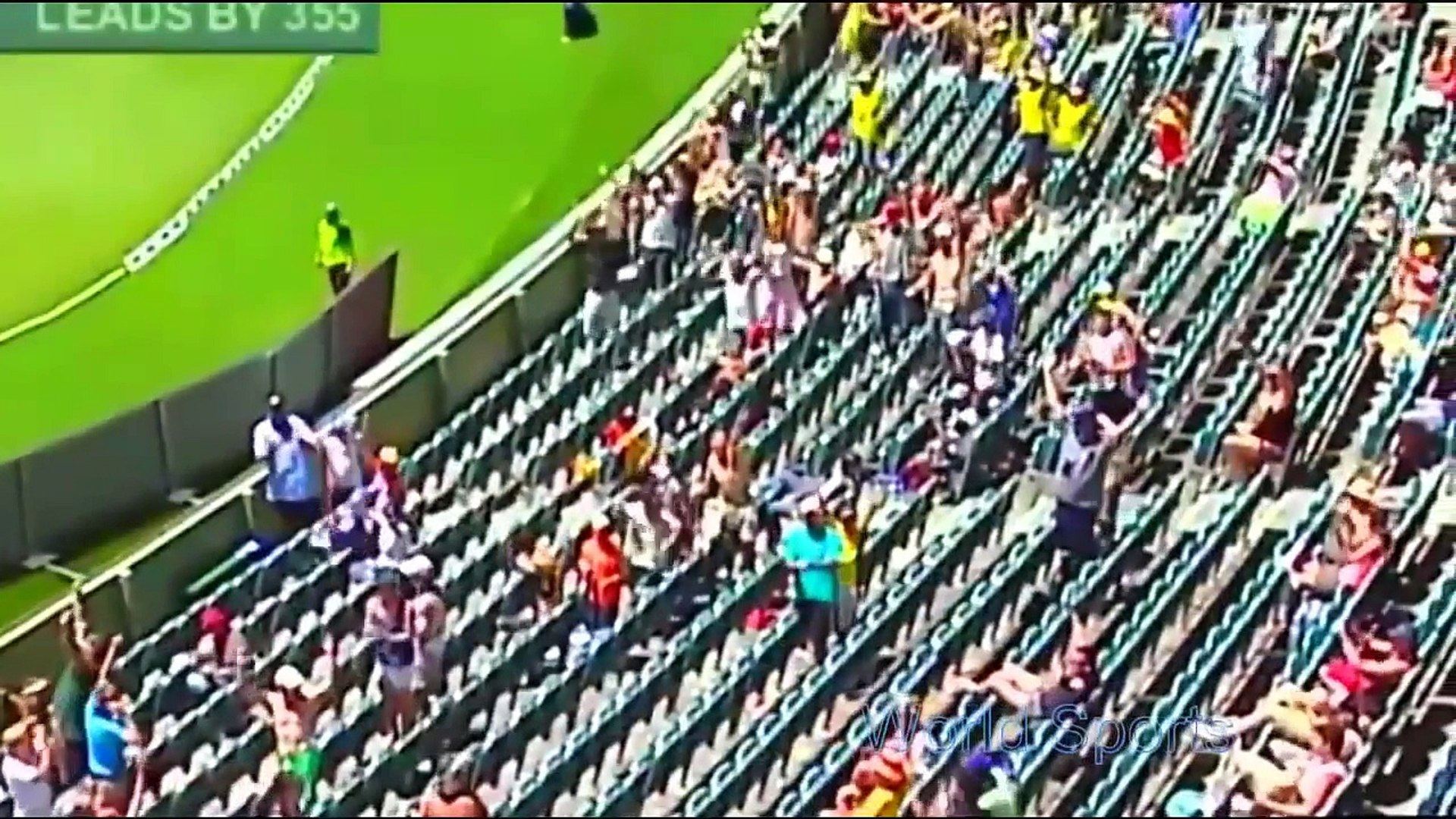 best cricket catch by fan - best catch by crowd - people takes catch in cricket
