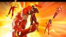 Super Heros Finger Family Super Heros Finger Family The Flash