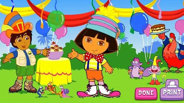 Dora the Explorer Episodes for Children in English HD Dora Super Silly Costume Maker Nick jr Kids