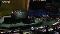 Türk kızı Talya, BM Genel Kurulu'nda alkış yağmuruna tutuldu