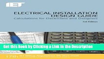 PDF Electrical Installation Design Guide: Calculations for