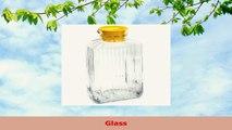 Anchor Hocking 2 Quart Glass Bistro Pitcher with Lemon Chiffon Stopper 446cdf9e