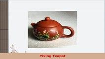 Peony Printed Purple Clay Teapot Craft Pot Yixing Purple Grit Tea Pot a570acc5