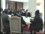 Le président de la CEI a eu une séance de travail avec des bailleurs de fonds