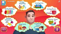 Daddys Little Helper   Help Silly Daddy Clean up and Have Fun!   Tabtale Game for Children