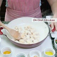 Recette - Paella au poulet (NS)