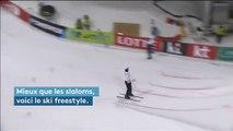 Ski freestyle : des figures impressionnantes dans la ville des Jeux olympiques d'hiver 2018