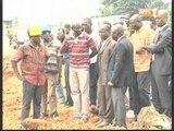 Une délégation des marchés publics visite des chantiers en cours dans le district d'Abidjan