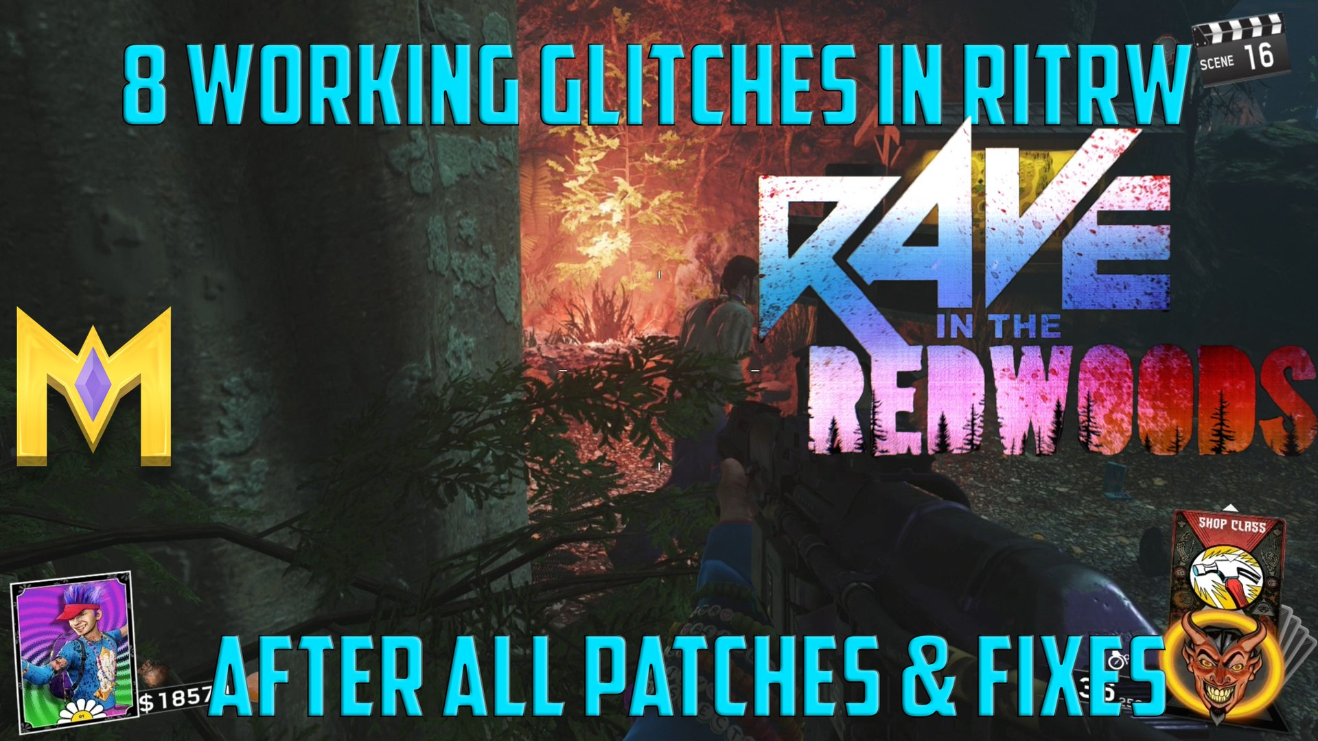 Rave In The Redwoods Glitches - 8 WORKING Glitches ON Rave In The Redwoods -