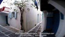 Mykonos Alleys Cruise Holidays | Luxury Travel Boutique 955-602-6566   855-602-6566 Brampton Milton Barrie