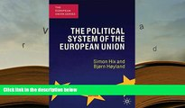 FREE [PDF]  The Political System of the European Union (The European Union Series)  BEST PDF