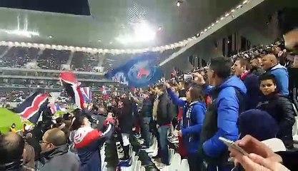 Supporters Biassais lors du match Bordeaux /PSG