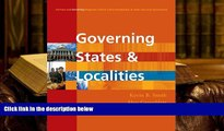 Kindle eBooks  Governing States And Localities (CQ Press and Governing Magazine Present a New
