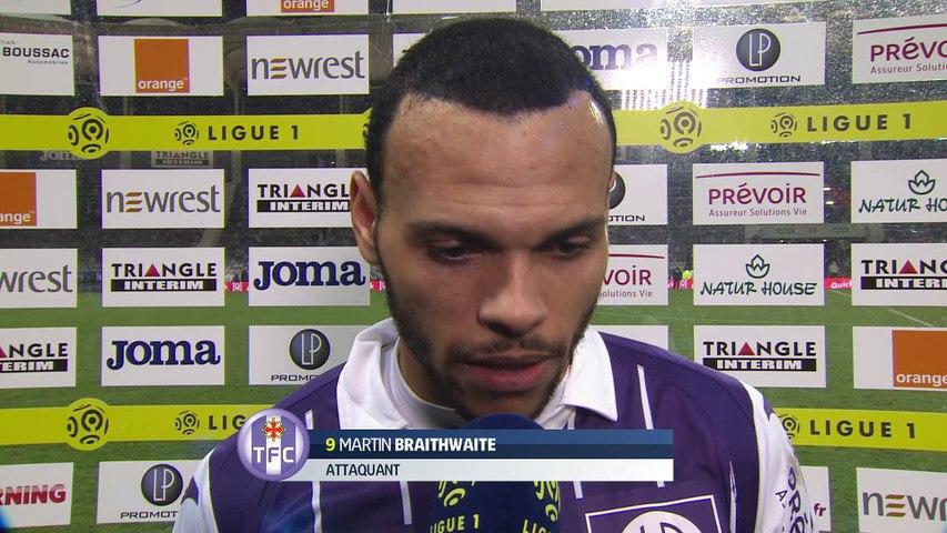 L'interview de Martin Braithwaite après TFC/Bastia