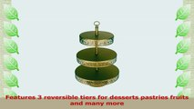 Victoria Collection 3 Tier Dessert Stand with Reversible Tiers Cupcake Tower Display 22 2184c593