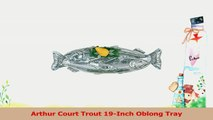 Arthur Court Trout 19Inch Oblong Tray a78b464c