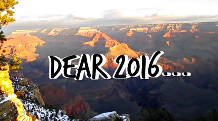 Dear 2016 | You Changed MY LIFE.