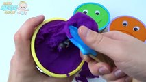 Kinetic Sand Ice Cream Smiley Face Surprise Cups Talking Tom Paw Patrol Peppa Pig Masha