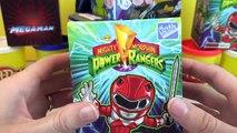 CAPTAIN AMERICA GIANT Play-Doh Surprise Egg Avengers DC Comics Power Rangers Minecraft