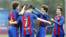 [HIGHLIGHTS] FUTBOL (Juvenil B) FC Barcelona – Mollet (10-0)