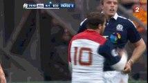 Tournoi des 6 nations: Rugby: Français et Ecossais en viennent aux mains