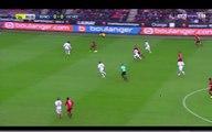 12/02/17 : Morgan Amalfitano (7') : Rennes - Nice (2-2)