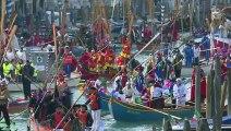 """Venise: """"Parade du Rat"""" au deuxième jour du carnaval"""