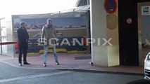 13.02.2017 Robert Pattinson arriving Airport in Berlin