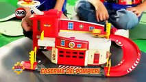 Sam il Pompiere Fireman Sam Strażak Sam vs Bob der Baumeister Bob Budowniczy TV Toys Anziege