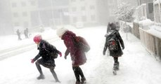 Ordu ve Giresun'da Okullara Kar Tatili
