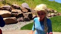 Frozen Elsa Marries Joker?¿ Double Wedding Maleficent Marries Spiderman Funny Super Hero Prank In 4K