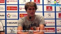 """ATP - Open Sud de France 2017 - Alexander Zverev : """"J'ai pris 4/5 kg de muscles cet hiver"""""""
