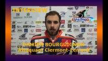 Hockey D1 - 2017-02-11 Interview Damien Bourguignon -  Attaquant Clermont-Ferrand