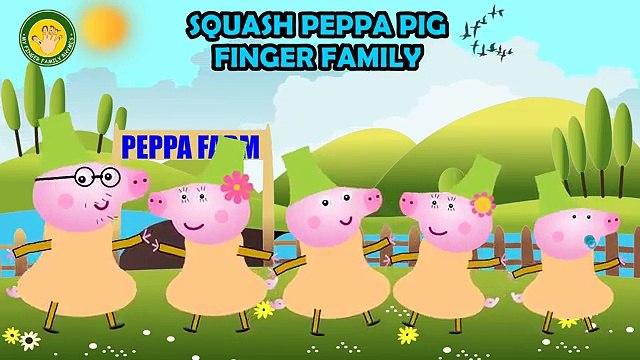 Peppa Pig Squash Fruit Finger Family | Peppa Pig Finger Family | Nursery Rhymes Lyrics and More