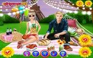 Barbie and Ken Romantic Picnic Date - Princess Barbie and Ken Summer Dress Up Games For Ki