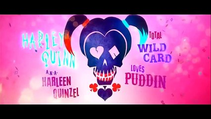 """SUICIDE SQUAD Official """"Harley Quinn"""" Trailer (2016)"""