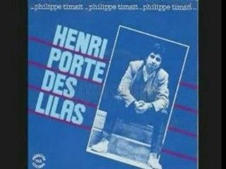 PHILIPPE TIMSIT HENRI PORTE DES LILAS