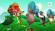 Madagascar Cartoon Finger Family Nursery Rhymes   Cartoon Animation Children Rhymes & Songs