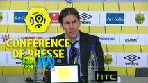 Conférence de presse FC Nantes - Olympique de Marseille (3-2) : Sergio CONCEICAO (FCN) - Rudi GARCIA (OM) Ligue 1 / 2016-17