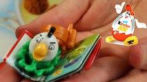 Kinder Joy Surprise Egg - Magic Kinder - Angry Birds - White Bird Matilda & Fingers Games - FF602