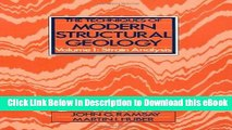 EPUB Download The Techniques of Modern Structural Geology: Strain Analyses Mobi