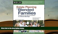 Kindle eBooks  Estate Planning for Blended Families: Providing for Your Spouse   Children in a