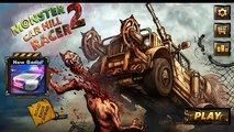 Monster Car Hill Racer 2 Gameplay iOS / Android