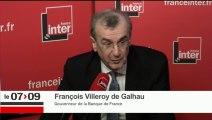 """François Villeroy de Galhau : """"Avec l'euro, nous avons construit une bonne monnaie, une monnaie solide"""""""