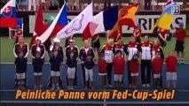 Les USA jouent l'hymne nazi au lieu de l'hymne allemand avant la Fed Cup !