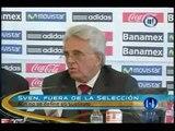 Eriksson deja la Selección Mexicana