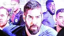 Nikola Karabatic, Nedim Remili et les autres champions du monde parisiens reçu dans les locaux du PSG handball