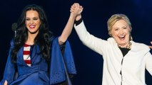 Katy Perry Names Shoe Line After Hillary Clinton